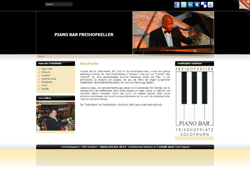 Geschichte - Piano Bar - Solothurn