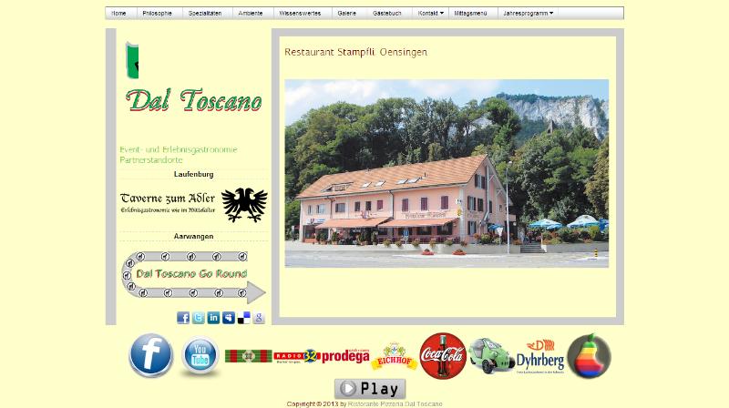 Ristorante Pizzeria Dal Toscano - Restaurant Stampfli in Oensingen SO